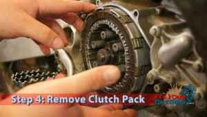 Step 4: Remove Clutch Pack