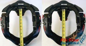 Leatt Neck Brace Front To Back Collar Measuements