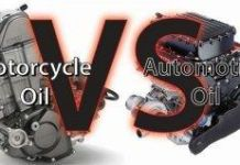 the difference bewteen motorycle oil and car oil