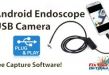 Android Endoscope header