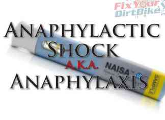 Internal First Aid Anaphylactic Shock
