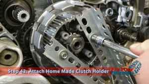 Step 42: Atach Home Made Clutch Holder