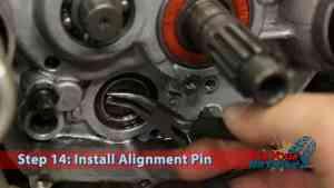 Step 14: Alignment Pin Installation