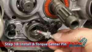 Step 18: Install & Torque Center Pin