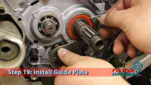 Step 19.1: Install Guide Plate