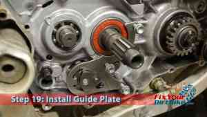 Step 19.2: Install Guide Plate