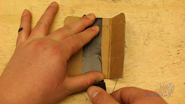 Cardboard Rim Guards - Tape