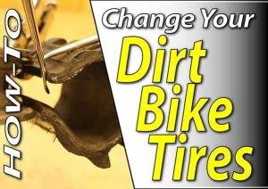 Dirt Bike Tube & Tire Change - How To | Fix Your Dirt Bike