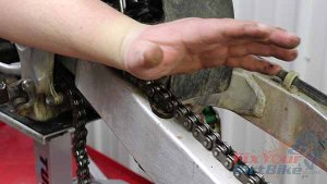 Place Forearm On Chain