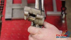 Removal - Pump Piston From Caliper 2