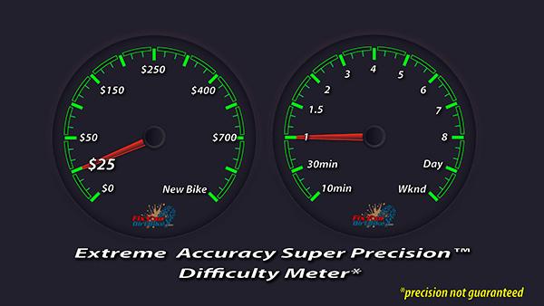 Cost & Difficulty Dial - 1997-2001 Honda CR250 - Brakes - Rear Caliper