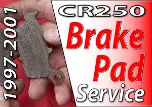 1997 - 2001 Honda CR250 - How To Change Front Wheel Bearings