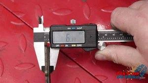 1997 - 2001 Honda CR250 - Brakes - Measure Pads