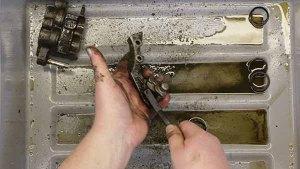 1997-2001 Honda CR250 - Front Caliper - Clean - Scrub