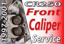 1997 - 2001 Honda CR250 - Front Brake Caliper Service