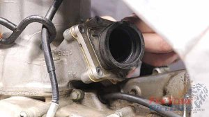 Install Carburetor Boot
