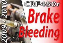 2009 - 2010 Honda CRF450r - Brake Bleeding