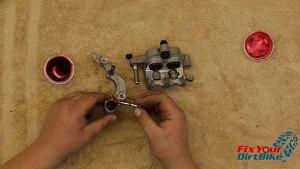 2009-2010 Honda CRF450r - Brakes - Grease Slide Pin Boots