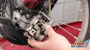 2009-2010 Honda CRF450r - Brakes - Uneven Pistons
