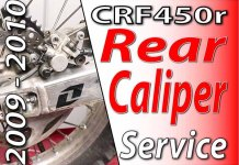 2009 - 2010 Honda CRF450r - Rear Caliper Featured