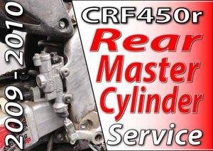 2009 - 2010 Honda CRF450r - Rear Master Cylinder Feaured Image