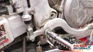 Install Brake Lever Pivot Bolt