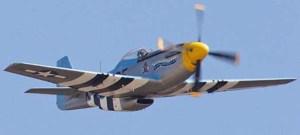Aviation Fuel Powerd The P-51 Mustang