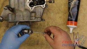 Top End Service - Part 10 - Exhaust Valve Installation - Asssemble Sub-Exhaust Valve a