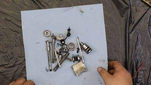 1997 - 2001 Honda CR250 - Top End Service - Part 8 - Exhaust Valve Inspection - Final Clean