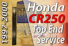 1997 - 2001 Honda CR250 - Top End Service - Part 1 - Introduction