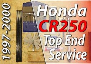 1997 - 2001 Honda CR250 - Top End Service - Part 1 - Introduction