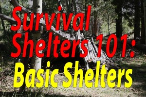 Survival Shelters 101 Basic Shelters - Featured