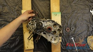 18. Assemble Splitter On Right Side