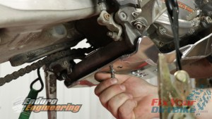 5 - Install Rear Skid Plate Hook And Screws