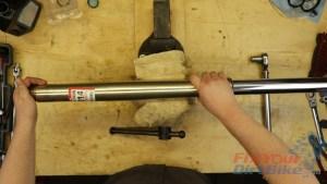 40 - Assemble Fork Tube And Damper