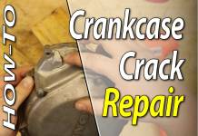 How To Repair A Crack In Your Dirt Bike Crankcase - Featured