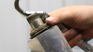2 - Remove Steering Stem Adjustment Nut