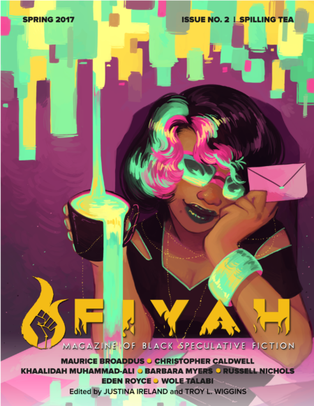 Cover for Spilling Tea Issue of Fiyah