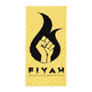 FIYAH Logo Beach Blanket