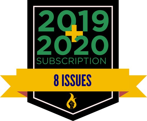 2019-2020 2-year subscription badge (8 issues)