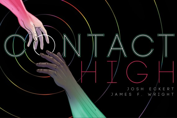 """""""Contact High"""" title panel"""