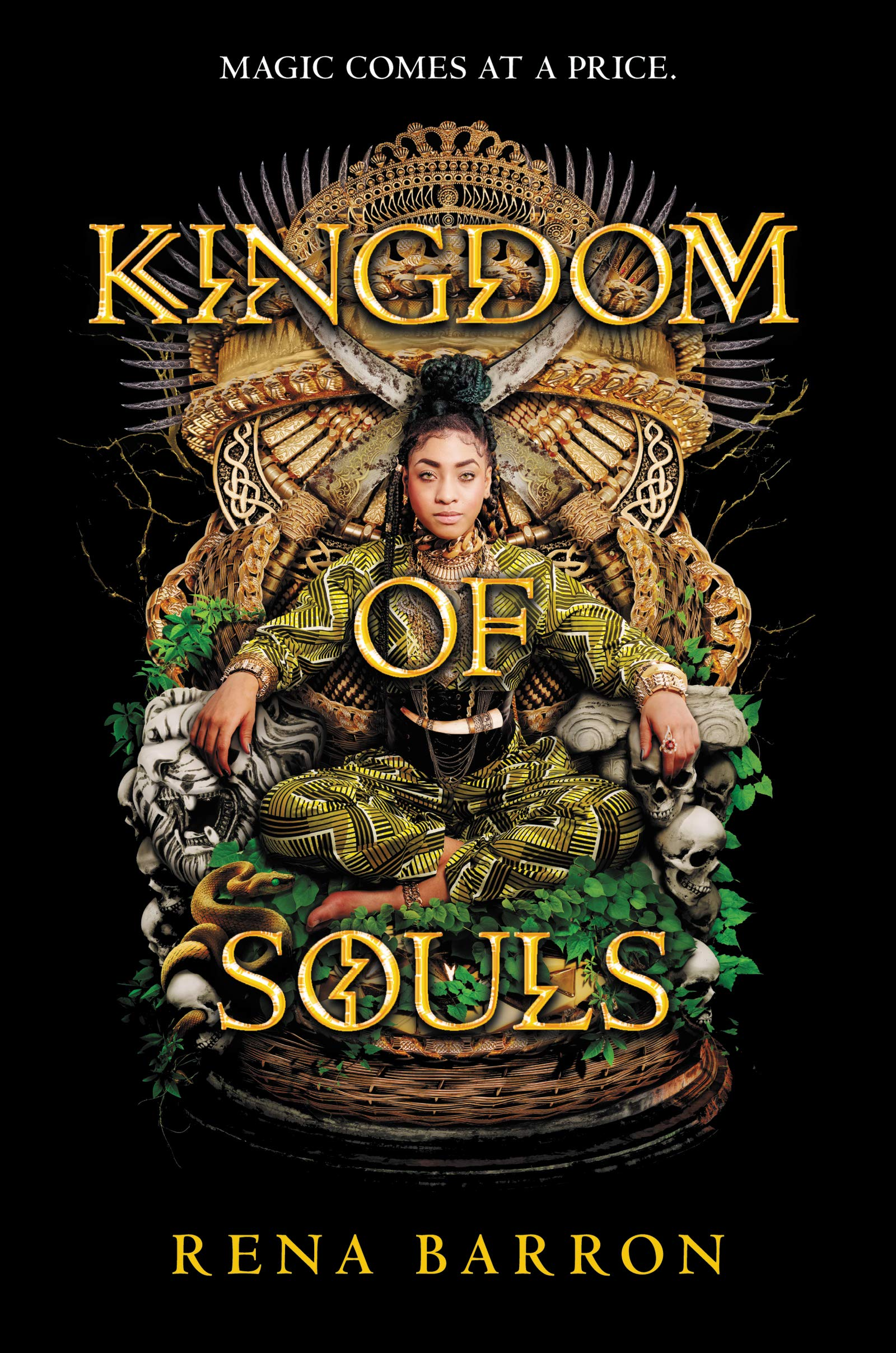 "Cover of Rena Barron's ""Kingdom of Souls"""