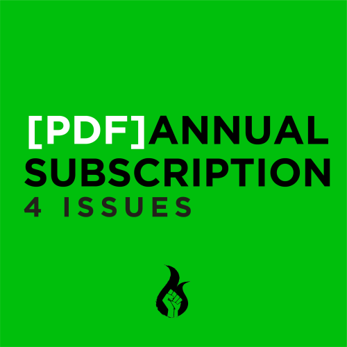 PDF Annual Subscription 4 issues