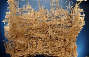 Kinetic San Francisco by Scott Weaver: 35 Years & 100,000 Toothpicks