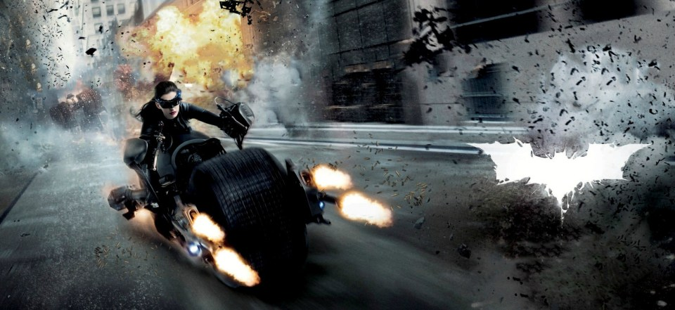 THE DARK KNIGHT RISES Textless Posters and Banners (1)