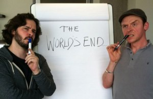 Simon Pegg, Nick Frost and Edgar Wright Shooting THE WORLDS END in September!