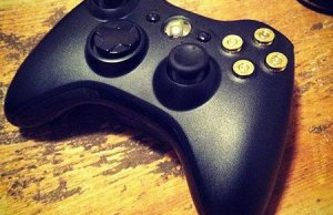 Xbox 360 Controller Modded with Real Bullets