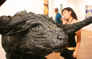 Insane Sculptures Made From Old Tires (1)