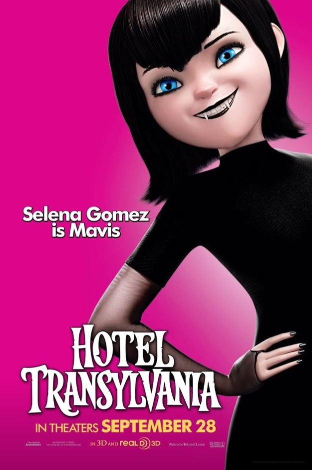 Stunning Character Posters For Hotel Transylvania. (6)