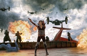 RESIDENT EVIL: RETRIBUTION Trailers